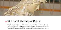 Jetzt um den Bertha-Ottenstein-Preis bewerben