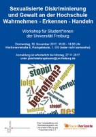 Jetzt anmelden: Workshop für Student*innen