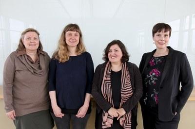 Drei neue stellvertretende Gleichstellungsbeauftragte für die Universität